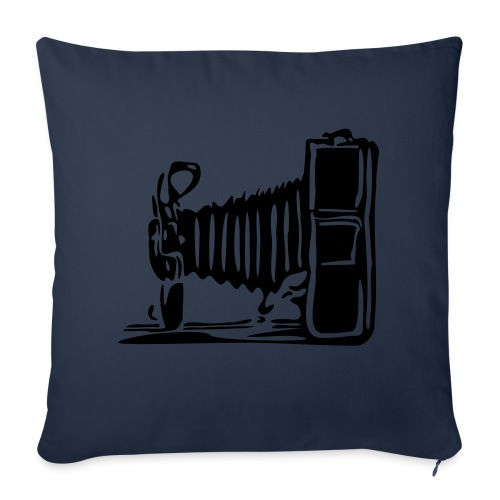 Camera Cushion  - Sofa pillowcase 17,3'' x 17,3'' (45 x 45 cm)