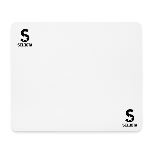 Selecta Mousepad White - Mousepad (Querformat)