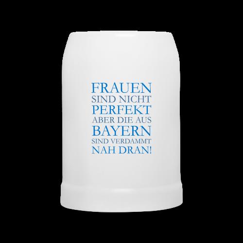 Frauen aus Bayern (Blau) Bierkrug - Bierkrug