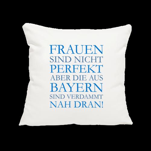 Frauen aus Bayern (Blau) Kissenbezug - Sofakissenbezug 44 x 44 cm