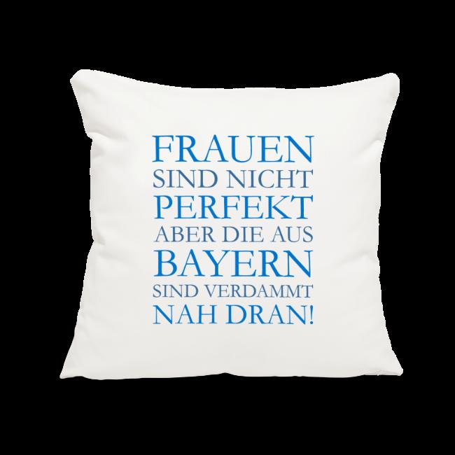 Frauen aus Bayern (Blau) Kissenbezug