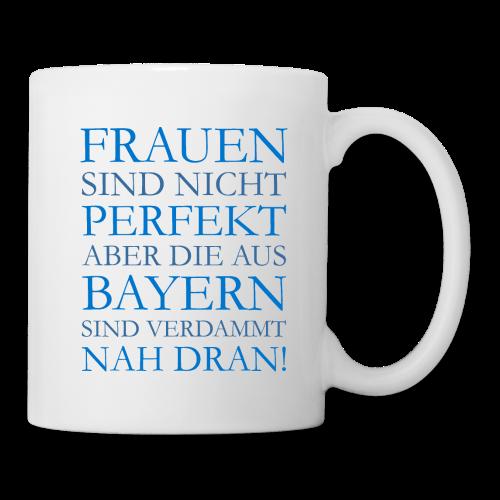 Frauen aus Bayern (Blau) Tasse - Tasse