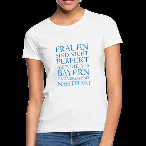 Frauen aus Bayern (Blau) T-Shirt - Frauen T-Shirt