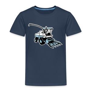 Häcksler, Mähdrescher (3 color) T-Shirts - Kinder Premium T-Shirt