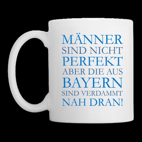 Männer aus Bayern (Blau) Tasse - Tasse