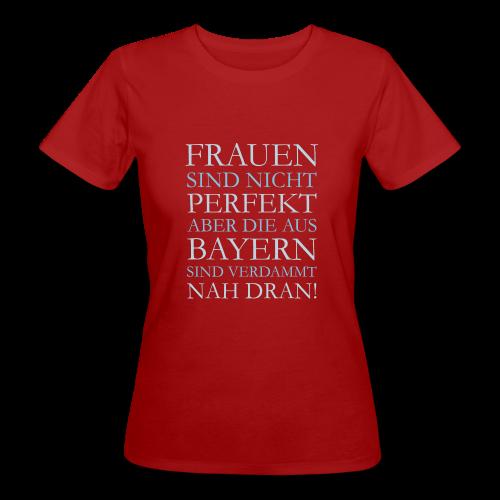 Frauen aus Bayern (Hellblau) Bio T-Shirt - Frauen Bio-T-Shirt