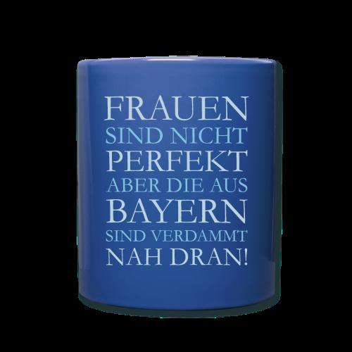 Frauen aus Bayern (Hellblau) Tasse - Tasse einfarbig
