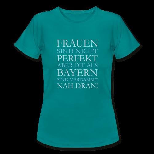 Frauen aus Bayern (Hellblau) T-Shirt - Frauen T-Shirt
