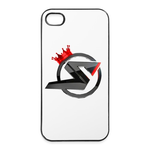 IPhone 4/4s Case ModernRed - iPhone 4/4s Hard Case