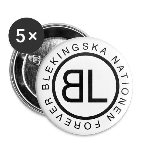 Knapp - Mellanstora knappar 32 mm (5-pack)