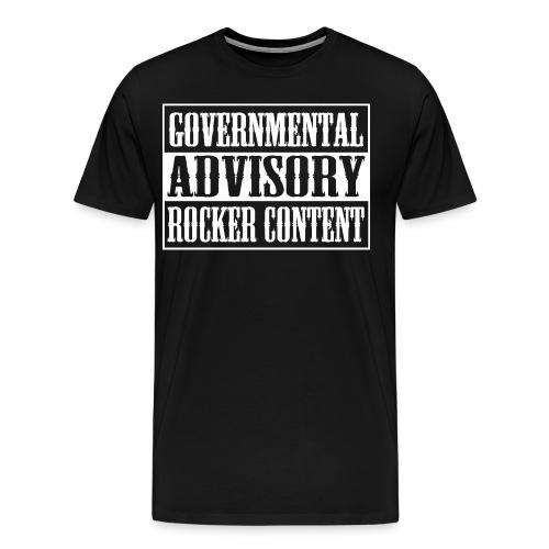 Rocker Content - Männer Premium T-Shirt