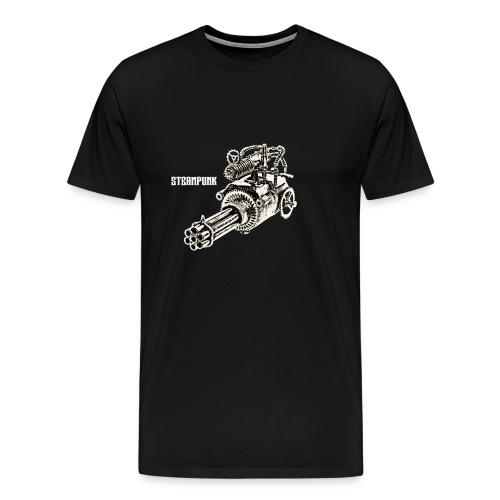 Steampunk-Kanone - Männer Premium T-Shirt
