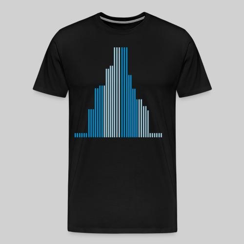 City-Wolkenkratzer-Männer T-Shirt - Männer Premium T-Shirt