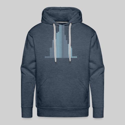 City-Wolkenkratzer-Männer Pullover - Männer Premium Hoodie