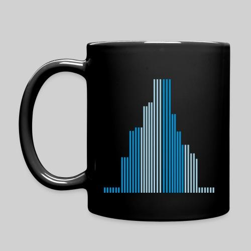City-Wolkenkratzer-Tasse - Tasse einfarbig