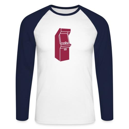Arcade Langarm - Männer Baseballshirt langarm