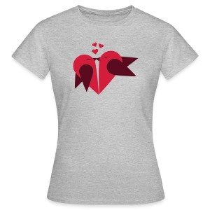 Loving heart, Valentin day T-Shirts - Frauen T-Shirt
