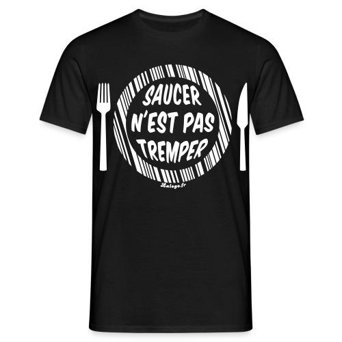 T-shirt Saucer n'est pas tremper (Assiette) - T-shirt Homme
