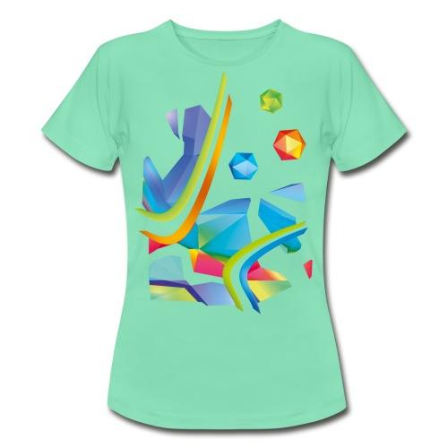 Fresh Works 3D Graffiti - Women's T-Shirt
