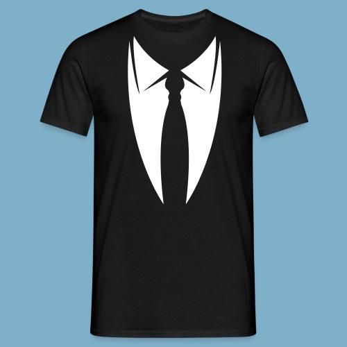 Kravatte - Männer T-Shirt