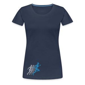 Runner-Shirt  - Frauen Premium T-Shirt