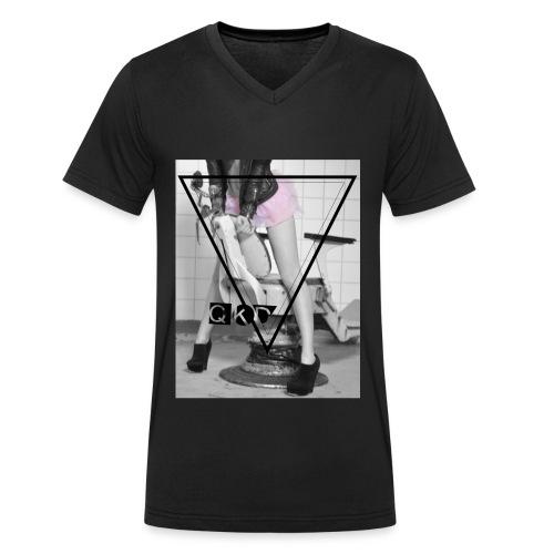 QKD Doktorspiele - Männer Bio-T-Shirt mit V-Ausschnitt von Stanley & Stella