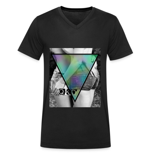QKD Nachspiel - Männer Bio-T-Shirt mit V-Ausschnitt von Stanley & Stella