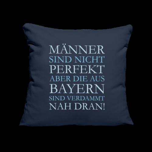 Männer aus Bayern (Hellblau) Kissenbezug  - Sofakissenbezug 44 x 44 cm