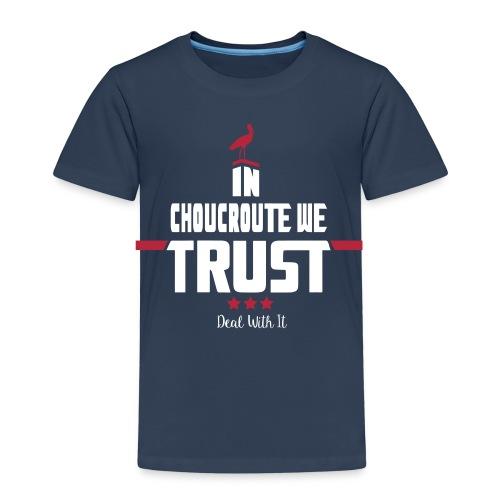 Tshirt Enfant bleu marine - T-shirt Premium Enfant