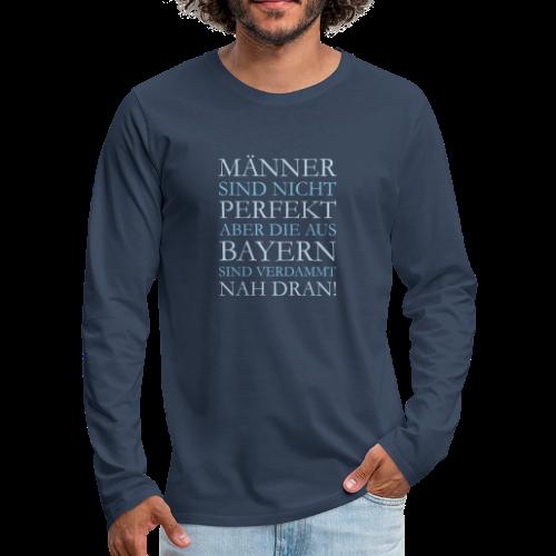 Männer aus Bayern (Hellblau) Langarm Shirt - Männer Premium Langarmshirt