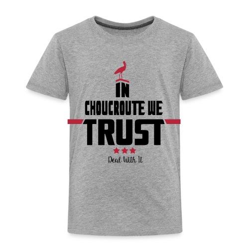 Tshirt Enfant gris - T-shirt Premium Enfant
