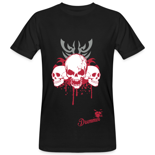 Bloody Skulls - Men's Organic T-Shirt