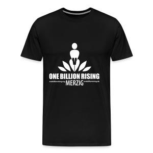 Merzig-Flock- 1/1 - Männer Premium T-Shirt