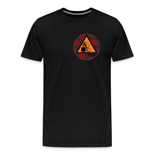 Taoui T-Shirt - Schwarz  - Männer Premium T-Shirt