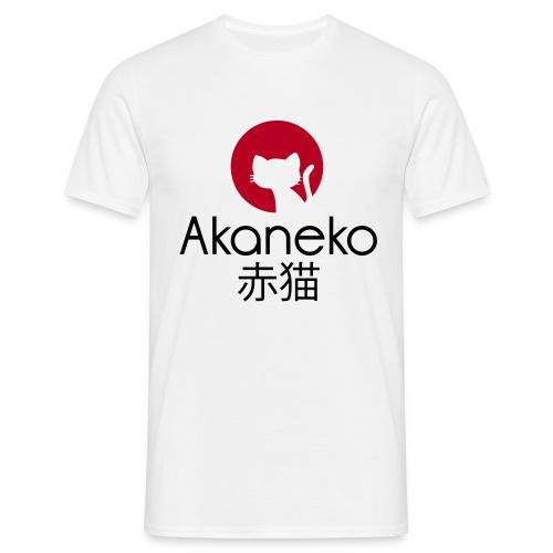 Akaneko Noir Homme - T-shirt Homme