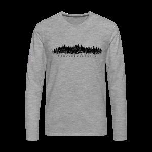 Schwarzwaldkind Langarmshirt - Männer Premium Langarmshirt