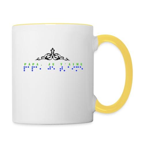 Tasse - Mug contrasté