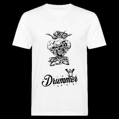 Drummer Skulls - Men's Organic T-Shirt