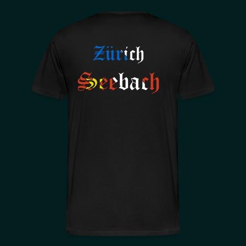 SB-ZH (+Vorne Aufdruck) - Männer Premium T-Shirt