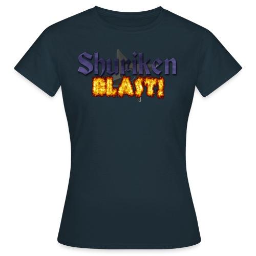 Women's ShurikenBlast! T-Shirt - Women's T-Shirt