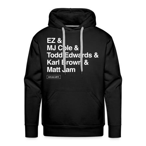 UKG Legends Hoodie - DJs - Men's Premium Hoodie