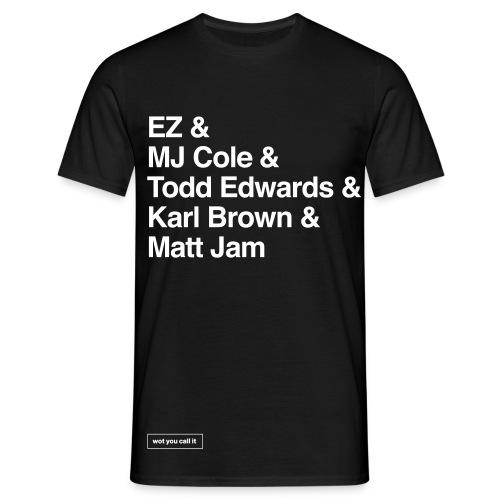 UKG Legends Black - Men's T-Shirt