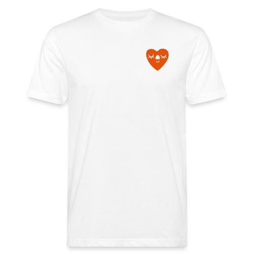 SMILING HEART MAN - Men's Organic T-Shirt