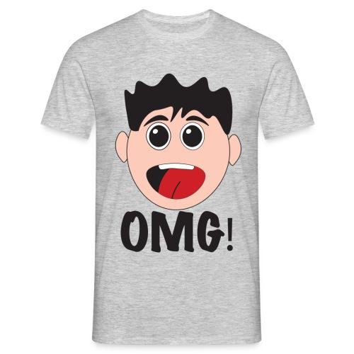 Omg Cartoon Tee - Men's T-Shirt
