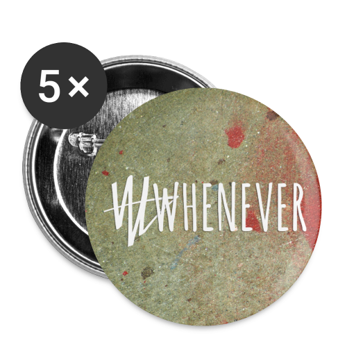 Buttons klein 25 mm (5er Pack) - official WHENEVER merchandise