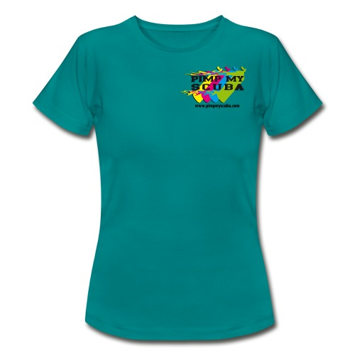 Pimp my Scuba Shirt Damen - Frauen T-Shirt