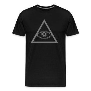 Miesten t-paita Illuminaatti - Miesten premium t-paita