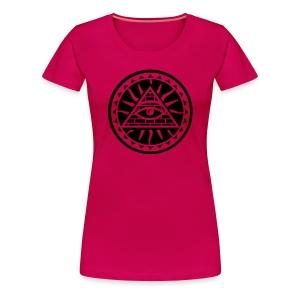 Naisten t-paita Illuminaatti - Naisten premium t-paita