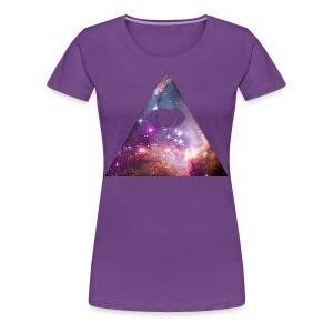 Naisten t-paita Illuminaatti II - Naisten premium t-paita