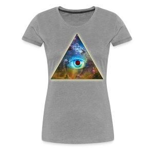 Naisten t-paita Illuminaatti III - Naisten premium t-paita